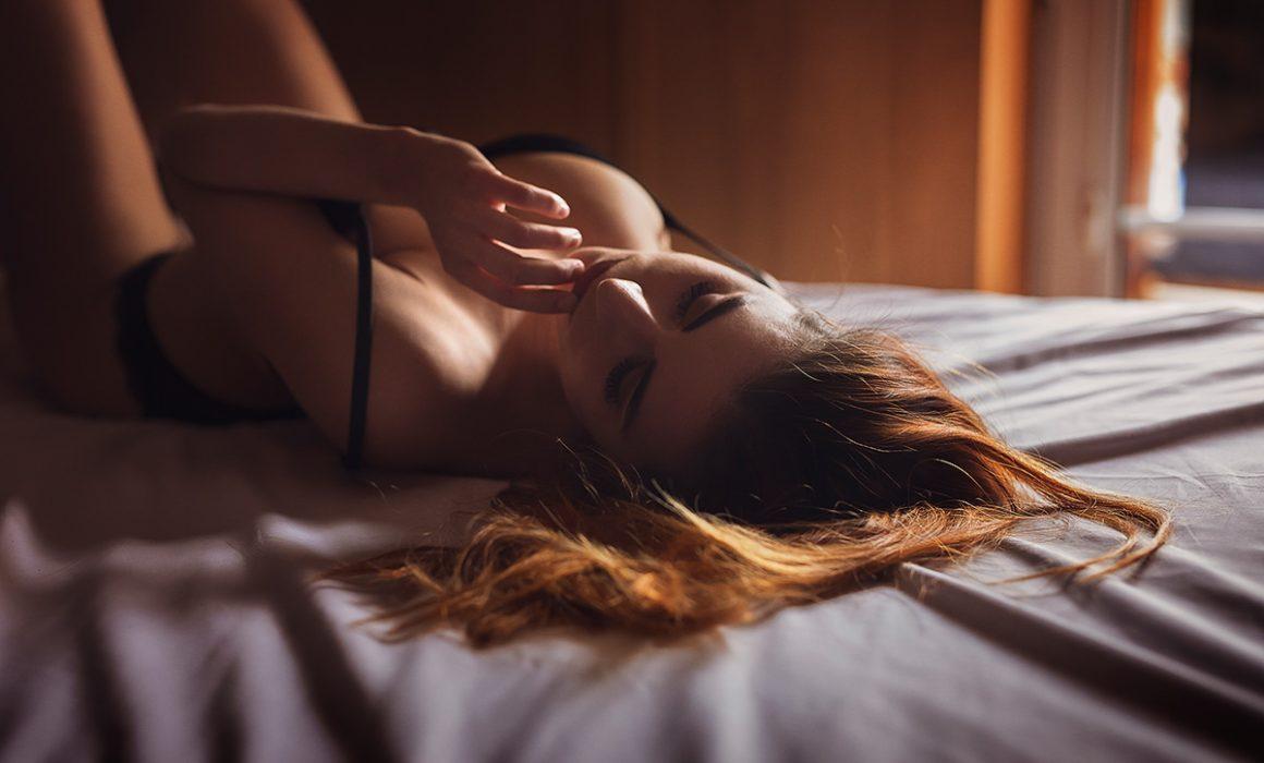sensualna sesja kobieca
